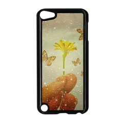 Butterflies Charmer Apple iPod Touch 5 Case (Black)