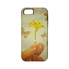Butterflies Charmer Apple Iphone 5 Classic Hardshell Case (pc+silicone)