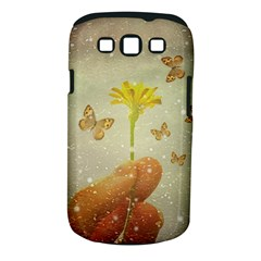 Butterflies Charmer Samsung Galaxy S III Classic Hardshell Case (PC+Silicone)