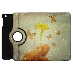 Butterflies Charmer Apple Ipad Mini Flip 360 Case