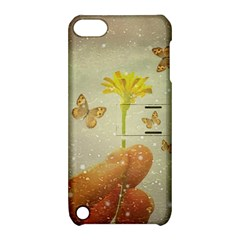 Butterflies Charmer Apple Ipod Touch 5 Hardshell Case With Stand
