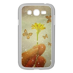 Butterflies Charmer Samsung Galaxy Grand DUOS I9082 Case (White)
