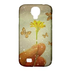 Butterflies Charmer Samsung Galaxy S4 Classic Hardshell Case (PC+Silicone)