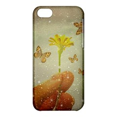 Butterflies Charmer Apple iPhone 5C Hardshell Case
