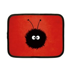 Red Cute Dazzled Bug Netbook Sleeve (small)