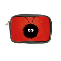 Red Cute Dazzled Bug Coin Purse