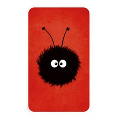Red Cute Dazzled Bug Memory Card Reader (Rectangular)