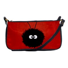 Red Cute Dazzled Bug Evening Bag