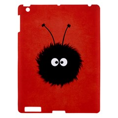 Red Cute Dazzled Bug Apple iPad 3/4 Hardshell Case