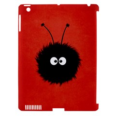 Red Cute Dazzled Bug Apple Ipad 3/4 Hardshell Case (compatible With Smart Cover)
