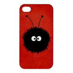 Red Cute Dazzled Bug Apple Iphone 4/4s Premium Hardshell Case