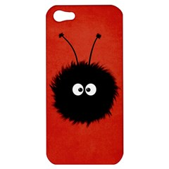 Red Cute Dazzled Bug Apple Iphone 5 Hardshell Case