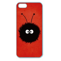 Red Cute Dazzled Bug Apple Seamless iPhone 5 Case (Color)