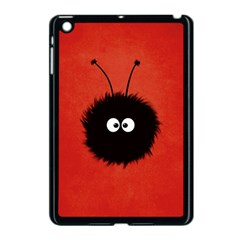 Red Cute Dazzled Bug Apple Ipad Mini Case (black)