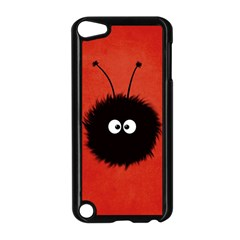 Red Cute Dazzled Bug Apple iPod Touch 5 Case (Black)