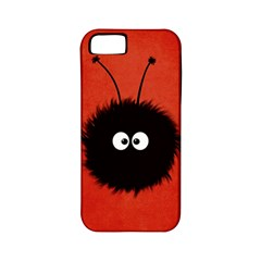 Red Cute Dazzled Bug Apple iPhone 5 Classic Hardshell Case (PC+Silicone)