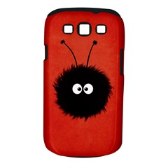 Red Cute Dazzled Bug Samsung Galaxy S III Classic Hardshell Case (PC+Silicone)