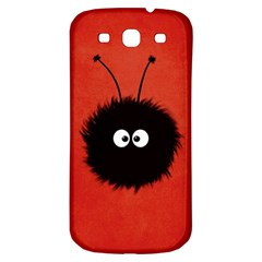 Red Cute Dazzled Bug Samsung Galaxy S3 S Iii Classic Hardshell Back Case