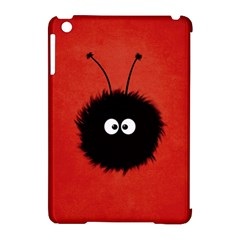 Red Cute Dazzled Bug Apple iPad Mini Hardshell Case (Compatible with Smart Cover)