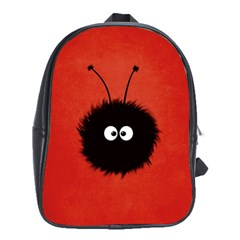 Red Cute Dazzled Bug School Bag (xl)