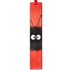Red Cute Dazzled Bug Large Bookmark