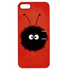 Red Cute Dazzled Bug Apple Iphone 5 Hardshell Case With Stand