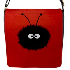 Red Cute Dazzled Bug Removable Flap Cover (small)