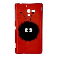 Red Cute Dazzled Bug Sony Xperia ZL (L35H) Hardshell Case