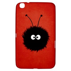 Red Cute Dazzled Bug Samsung Galaxy Tab 3 (8 ) T3100 Hardshell Case