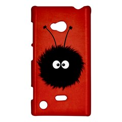 Red Cute Dazzled Bug Nokia Lumia 720 Hardshell Case