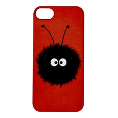 Red Cute Dazzled Bug Apple iPhone 5S Hardshell Case
