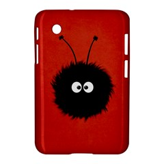 Red Cute Dazzled Bug Samsung Galaxy Tab 2 (7 ) P3100 Hardshell Case