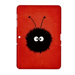 Red Cute Dazzled Bug Samsung Galaxy Tab 2 (10.1 ) P5100 Hardshell Case