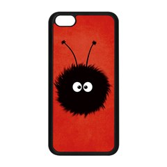Red Cute Dazzled Bug Apple Iphone 5c Seamless Case (black)