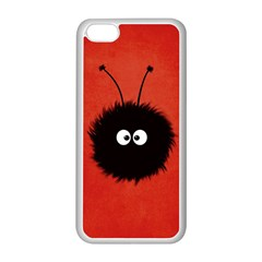 Red Cute Dazzled Bug Apple Iphone 5c Seamless Case (white)