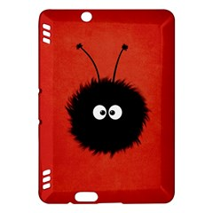Red Cute Dazzled Bug Kindle Fire Hdx 7  Hardshell Case