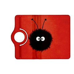 Red Cute Dazzled Bug Kindle Fire Hd 7  (2nd Gen) Flip 360 Case