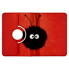 Red Cute Dazzled Bug Kindle Fire HDX 7  Flip 360 Case