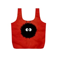 Red Cute Dazzled Bug Reusable Bag (s)