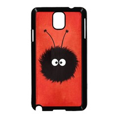 Red Cute Dazzled Bug Samsung Galaxy Note 3 Neo Hardshell Case (Black)