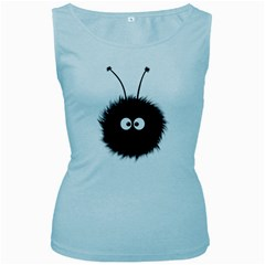 Cute Dazzled Bug Women s Tank Top (baby Blue)