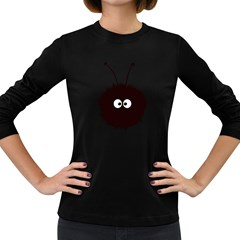 Cute Dazzled Bug Women s Long Sleeve T Shirt (dark Colored)