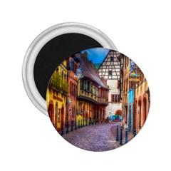 Alsace France 2.25  Button Magnet