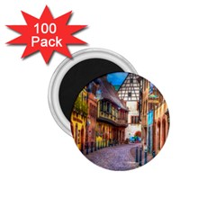 Alsace France 1 75  Button Magnet (100 Pack)