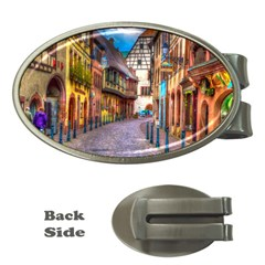 Alsace France Money Clip (Oval)