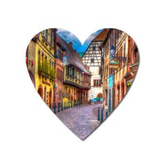 Alsace France Magnet (Heart)