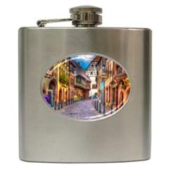 Alsace France Hip Flask