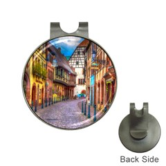 Alsace France Hat Clip with Golf Ball Marker