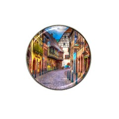Alsace France Golf Ball Marker (for Hat Clip)