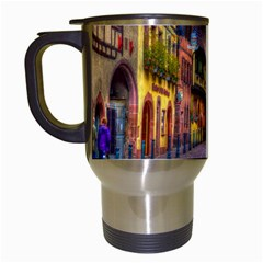 Alsace France Travel Mug (White)